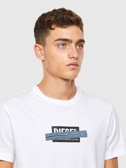 Diesel - T-DIEGOS-X40, Weiß - T-Shirts - Image 3