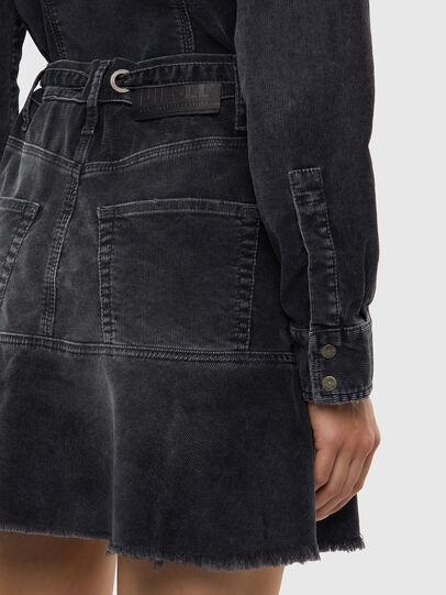Diesel - D-SHAY-A, Black - Dresses - Image 4