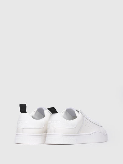 Diesel - S-CLEVER LOW W, Blanc Lumineux - Baskets - Image 3