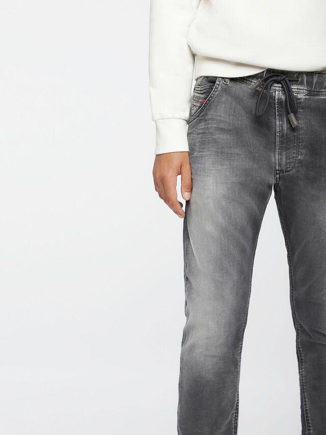 Diesel Krooley JoggJeans 0855B, Hellgrau - Jeans - Image 3