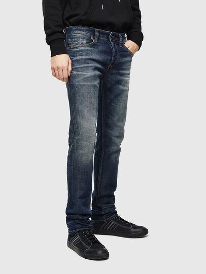 Diesel - Safado 0096U, Dunkelblau - Jeans - Image 1