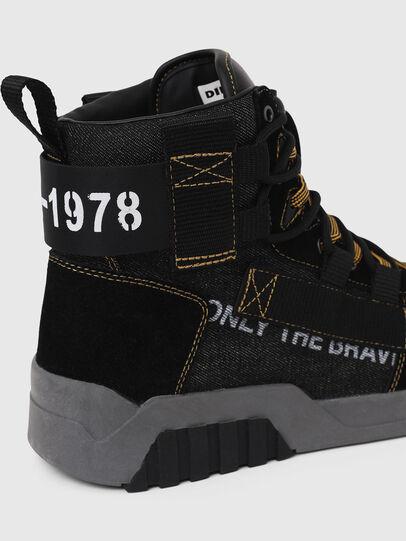 Diesel - S-RUA MID SP, Schwarz - Sneakers - Image 5