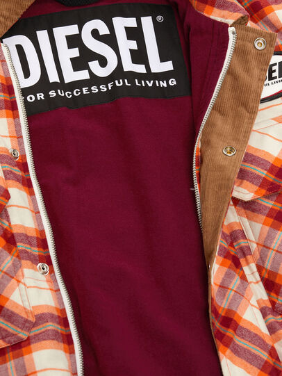 Diesel - J-TANIFER, Rot/Weiss - Jacken - Image 5