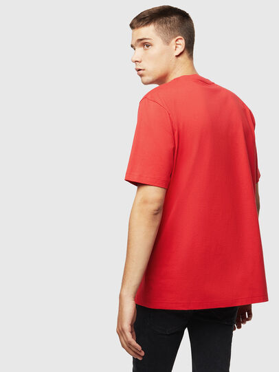 Diesel - T-JUST-J5, Rot - T-Shirts - Image 2