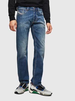 Larkee 083AA, Mittelblau - Jeans