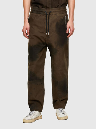 Diesel - P-HILL, Military Green - Pants - Image 1