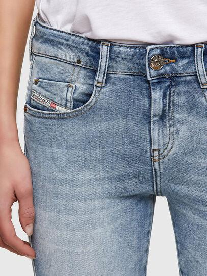 Diesel - D-Ollies JoggJeans® 069UX, Bleu Clair - Jeans - Image 3