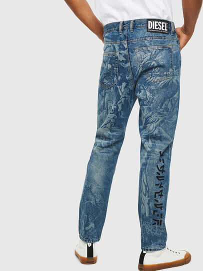Diesel - D-Vider 0079D, Mittelblau - Jeans - Image 2