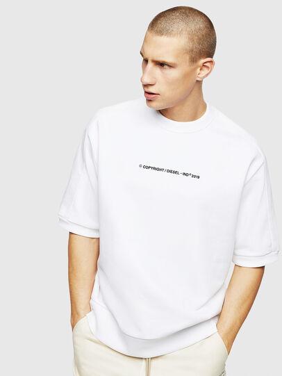Diesel - S-MAGGY-SH-COPY, Weiß - Sweatshirts - Image 1