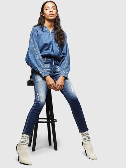 Diesel - Babhila 0091Y, Mittelblau - Jeans - Image 4