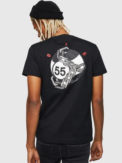 Diesel - T-DIEGO-J16, Schwarz - T-Shirts - Image 2
