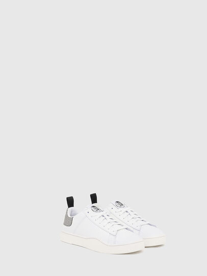 Diesel - S-CLEVER LOW LACE W, Weiß/Silber - Sneakers - Image 2