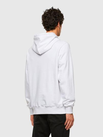 Diesel - S-GIRK-HOOD-X2, Weiß - Sweatshirts - Image 5