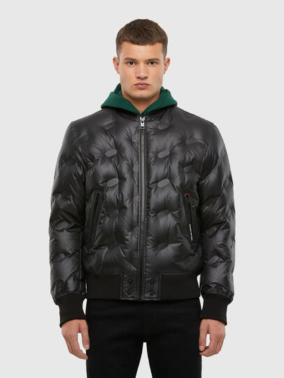 Diesel - W-ON-THERMO, Schwarz - Winterjacken - Image 1