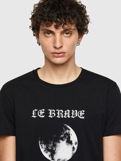 Diesel - T-INY-B1, Schwarz - T-Shirts - Image 3