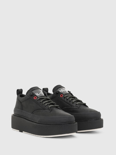 Diesel - H-SCIROCCO LOW LACE, Schwarz - Sneakers - Image 2