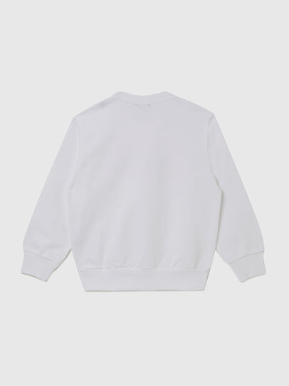 Diesel - SGIRKK10 OVER, Blanc - Pull Cotton - Image 2