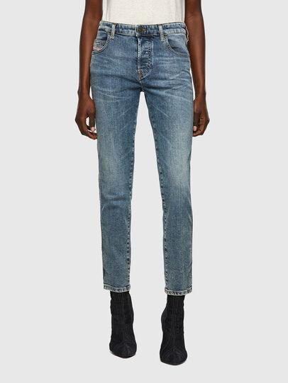Diesel - Babhila 069WC, Blu medio - Jeans - Image 1
