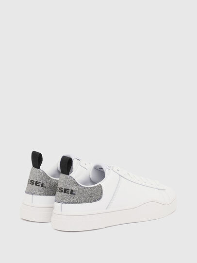 Diesel - S-CLEVER LOW LACE W, Weiß/Silber - Sneakers - Image 3