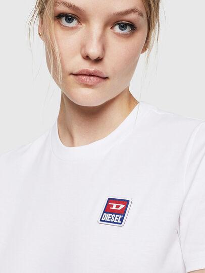 Diesel - T-SILY-ZE, Weiß - T-Shirts - Image 3