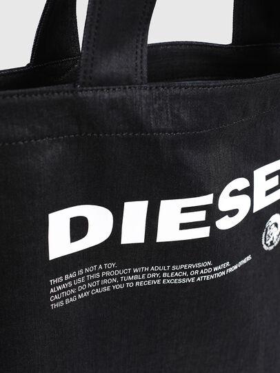 Diesel - D-THISBAG SHOPPER L, Schwarz - Shopper und Schultertaschen - Image 5