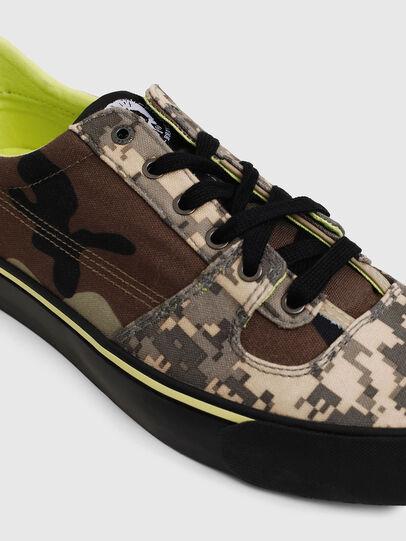 Diesel - S-FLIP LOW, Armeebraun - Sneakers - Image 4