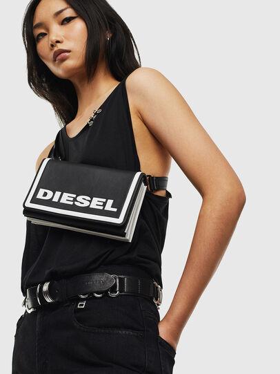 Diesel - DIPSEVOLUTION, Schwarz/Weiß - Continental Portemonnaies - Image 8