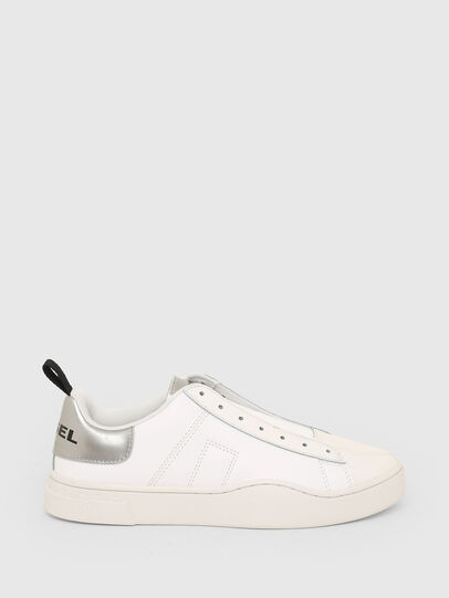 Diesel - S-CLEVER SO W, Bianco/Argento - Sneakers - Image 1