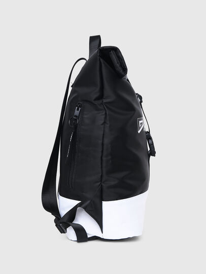Diesel - BBAG-ZAINO, Black/White - Beachwear accessories - Image 3