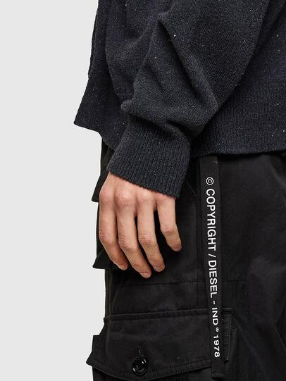 Diesel - K-MATRIX, Black - Knitwear - Image 4