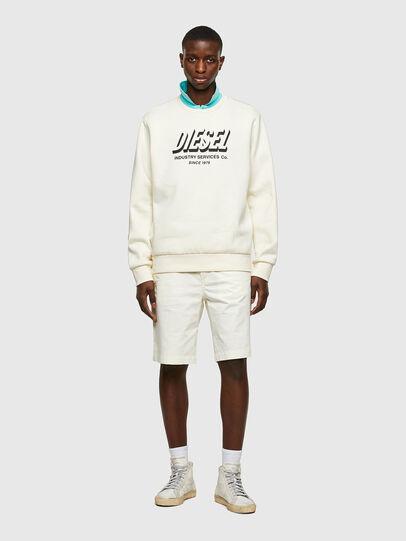 Diesel - P-HATY, Blanc - Shorts - Image 4