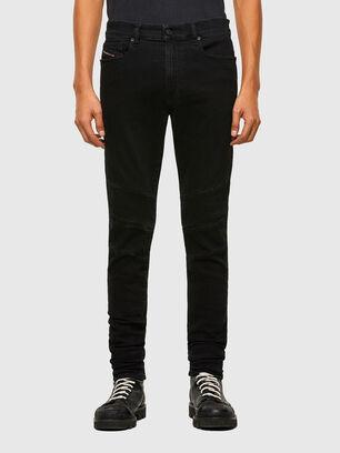 D-Amny 009RB, Noir/Gris foncé - Jeans