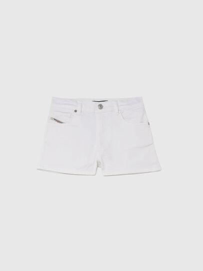 Diesel - PBOYSHORT JOGGJEANS, Blanc - Shorts - Image 1