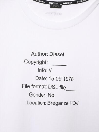 Diesel - UFTEE-ELODIE, Blanc - T-Shirts - Image 3