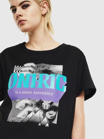 Diesel - T-SHALIE, Schwarz - T-Shirts - Image 4