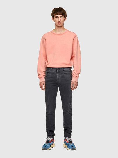 Diesel - D-Amny JoggJeans® 09A74, Noir/Gris foncé - Jeans - Image 5