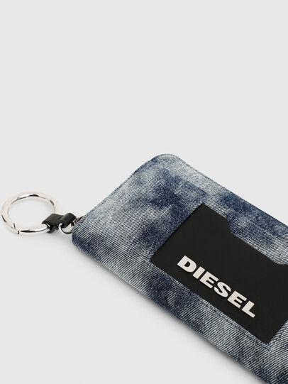 Diesel - ALLIUM, Jeansblau - Portemonnaies Zip-Around - Image 4