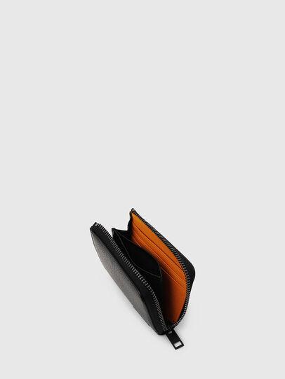 Diesel - L-PASSME, Schwarz/Orange - Kleine Portemonnaies - Image 3