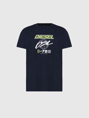 T-DIEGOS-K34, Blau - T-Shirts