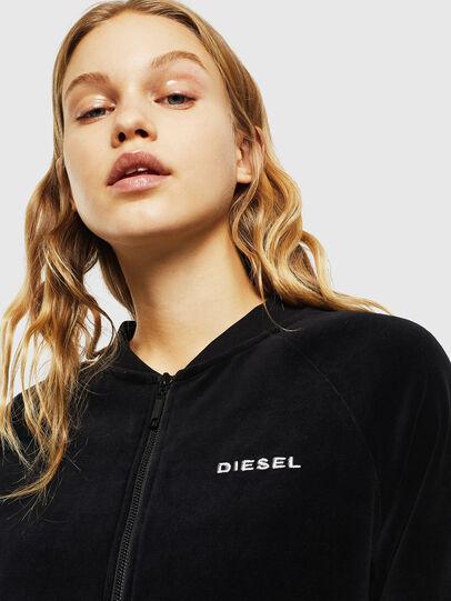 Diesel - UFLT-BONSHIN-Z, Schwarz - Sweatshirts - Image 3