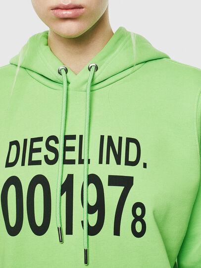 Diesel - F-ANG-HOOD-J1, Neongrün - Sweatshirts - Image 3