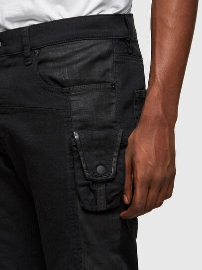 Diesel - D-Strukt 069TH, Noir/Gris foncé - Jeans - Image 3