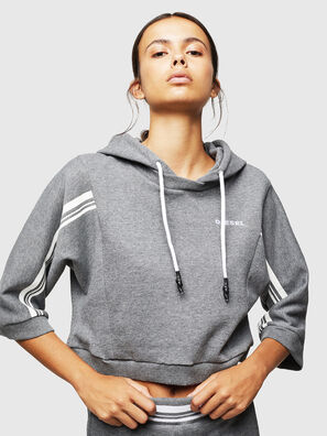 UFLT-VERTIX-CROP, Grau - Sweatshirts
