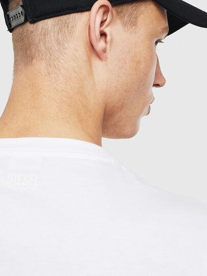 Diesel - T-JUST-T23, Weiß - T-Shirts - Image 3