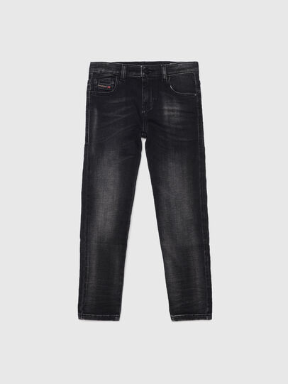 Diesel - D-SLANDY-HIGH-J JOGGJEANS, Nero/Grigio scuro - Jeans - Image 1