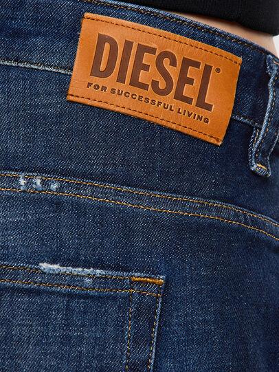 Diesel - Fayza 0F9ET, Dunkelblau - Jeans - Image 4