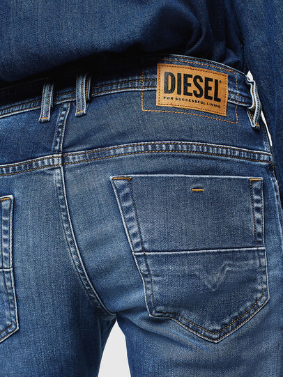 Diesel - Thommer 0097W, Dunkelblau - Jeans - Image 4