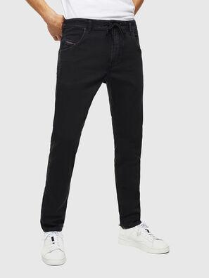 Krooley JoggJeans 0687Z, Schwarz/Dunkelgrau - Jeans