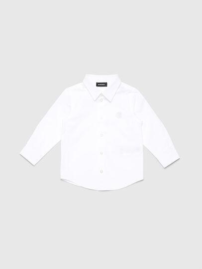 Diesel - CSBILLB, Weiß - Hemden - Image 1
