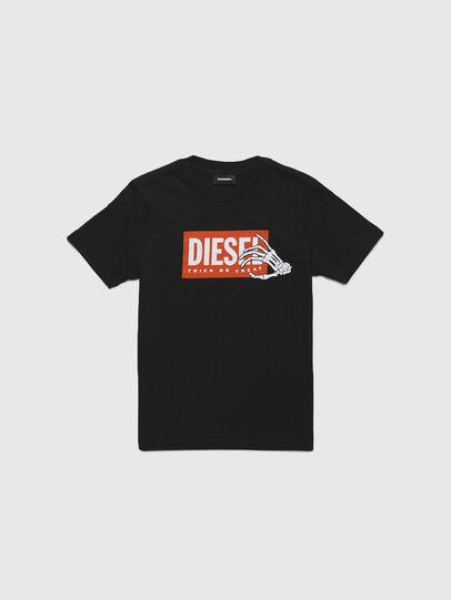 Diesel - TSKELE-TSE, Schwarz - T-Shirts und Tops - Image 1